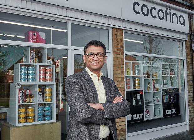 Jacob Thundil and Cocofina store