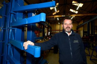FabWeld managing director Richard Hilton