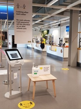 Image of IKEA store