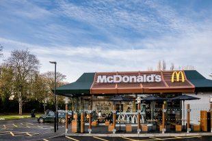 McDonalds restaurant exterior
