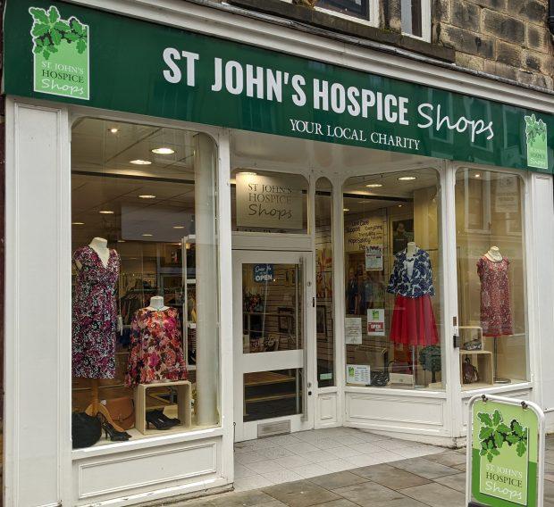 St John's Hospice store