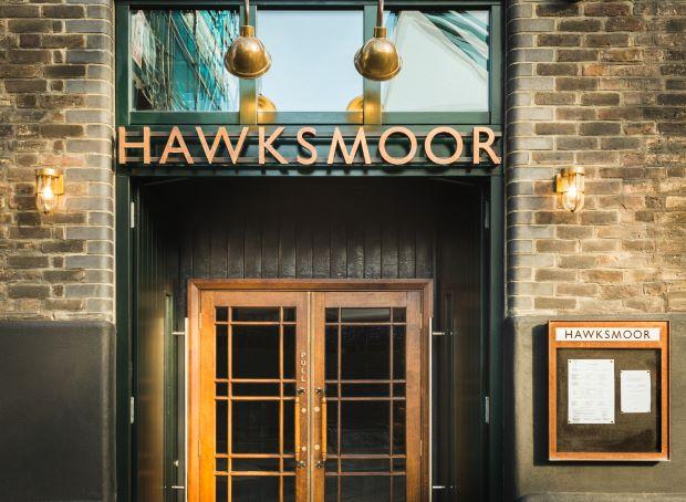 Door to Hawksmoor Borough